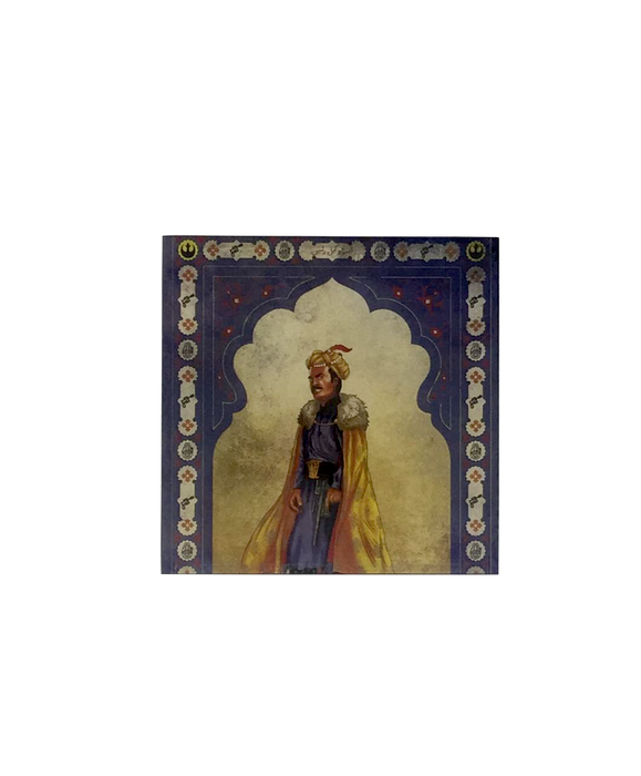 Star Wars Mughal Square Coaster- Lando Calrissian