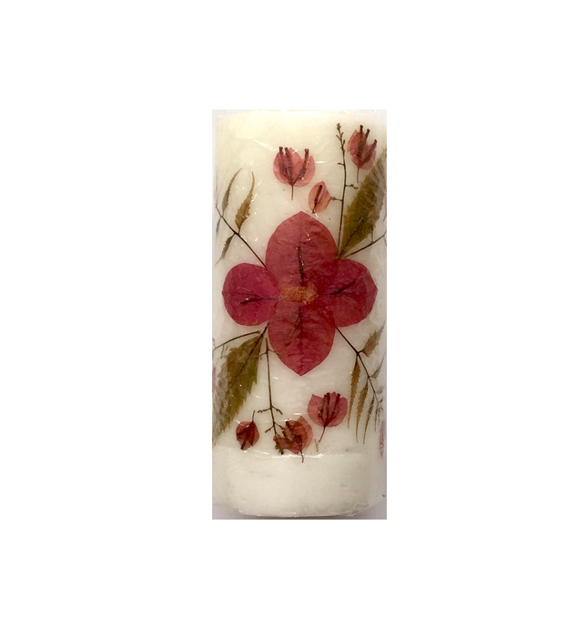 Dried Flowers' Candle - Large