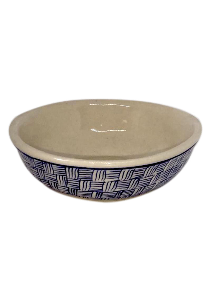 Condiment Bowl - Pin Stripe