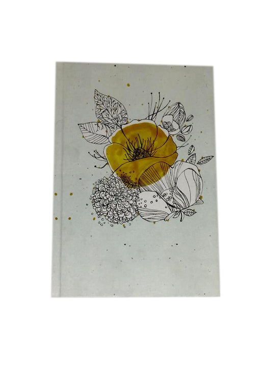 Yellow Flower Notebook