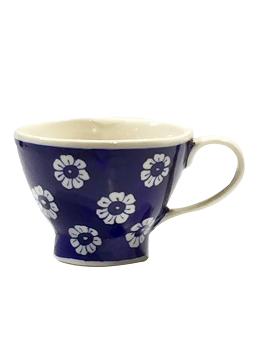 Over Sized Mug - Midnight Blue Floral