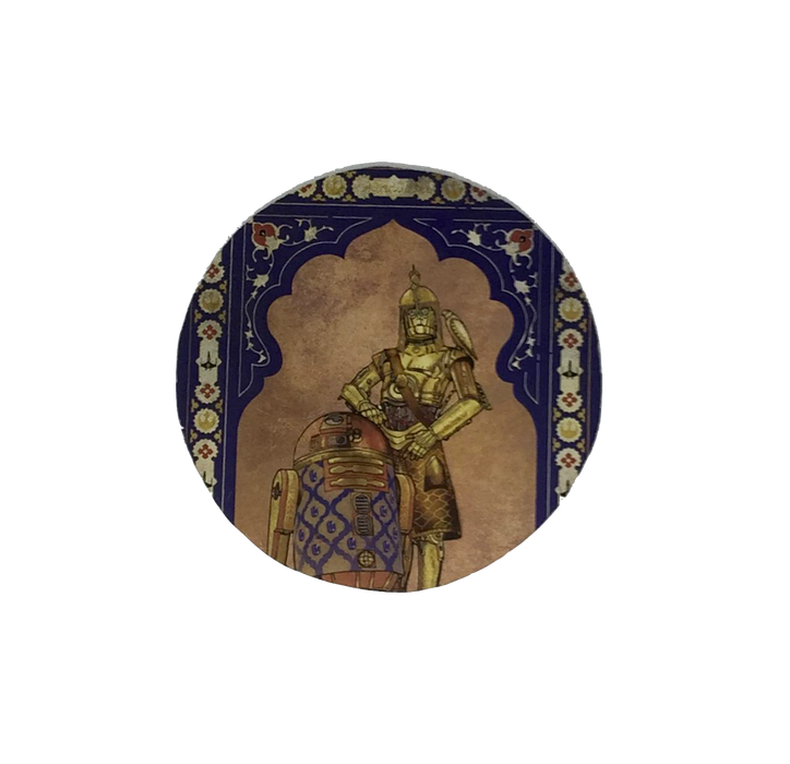 Star Wars Mughal Coaster- R2D2 and C3PO
