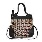 Pomegranate Rope Handle Tote C2
