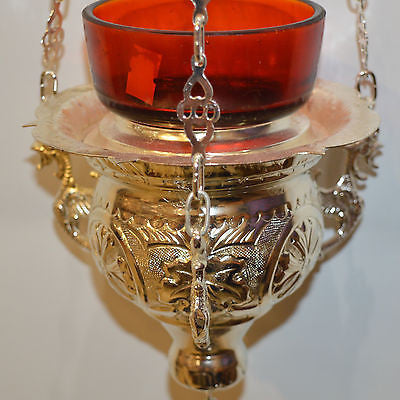 Traditional Byzantine Vigil Oil Candle 19cm