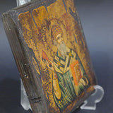 Greek Orthodox Byzantine Handpainted Icon Saint Spyridon 17x14cm
