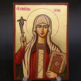 Serigraph Icon of Saint Nina 17x12cm