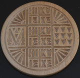 Traditional Orthodox Prosphora Stamp or Seal for the Communion Bread Wood 13cm