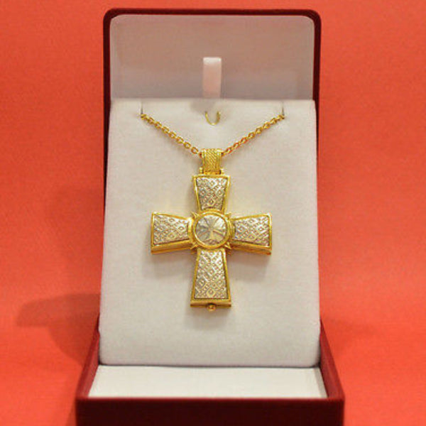 Orthodox Greek Cross With Neck chain H67