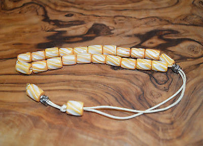 Worry Beads Komboloi Traditional Greek BONE