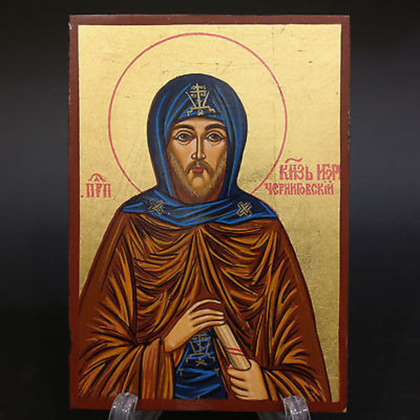 Serigraph Icon of Saint Igor 17x12cm