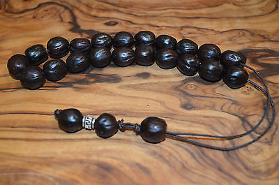 Worry Beads Komboloi Traditional Greek ЧЕТКИ Nutmeg