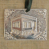 Greek Orthodox Silverplated Metal Tamata