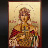 Serigraph Icon of Saint Elena 17x12cm