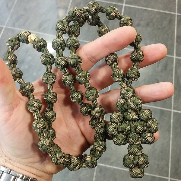 Exclusive Handmade Paracord Komboskini 50 knots