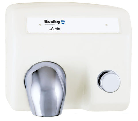 Cast Iron Push Button Operated Hand Dryer