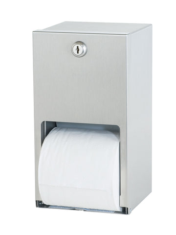 Surface Mounted Stainless Steel Toilet Tissue Dispenser