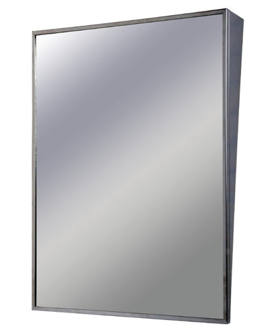 Stainless Steel, Welded Frame Fixed Tilt Mirror