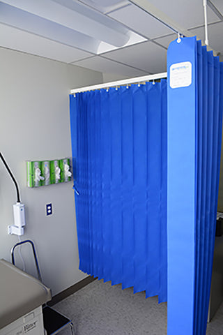 Barrier+ Disposable Cubicle Curtain - 2.44 X 2.25