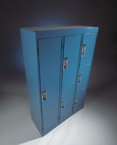 Six Tier Metal Locker - Call for Pricing