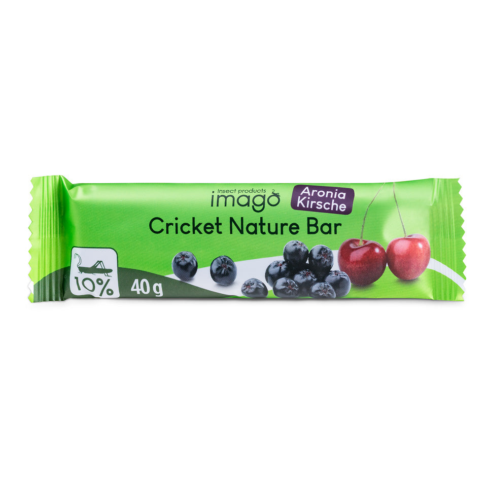 Cricket Nature Bar - Aronia Kirsche