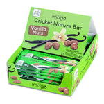 Cricket Nature Bar - Vanilla Nuts- Box mit 25 Riegeln