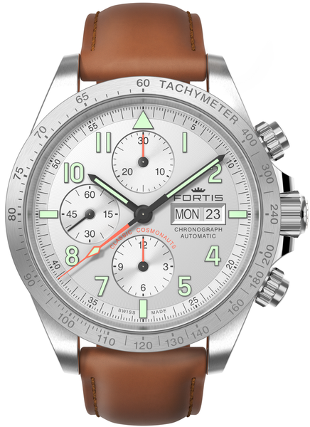 FORTIS Classic Cosmonauts Chronograph Steel a.m.