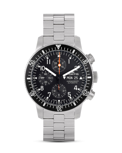 FORTIS B-42 Official Cosmonauts Chronograph Stahl