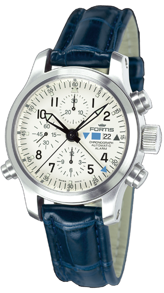 FORTIS Spacematic Chronograph AlarmB-42 Flieger Chronograph Alarm