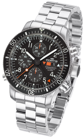 FORTIS B-42 Official Cosmonauts Chronograph Alarm