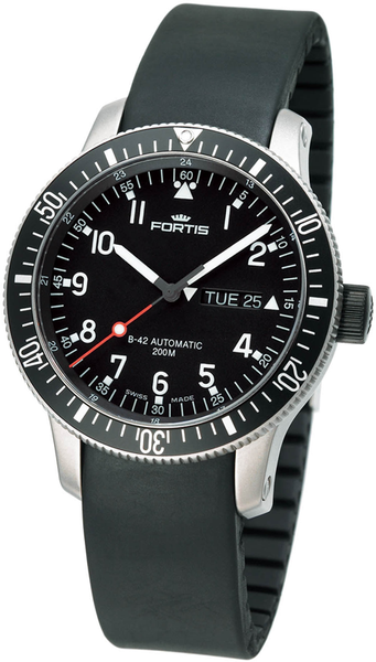 FORTIS B-42 Official Cosmonauts Day/Date - Ref. 647.10.11 K