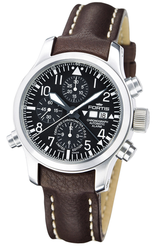 FORTIS B-42 Flieger Chronograph Alarm, Limited Edition - Ref. 657.10.11 L16