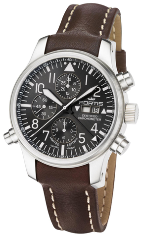 FORTIS F-43 Flieger Chronograph Alarm, Limited Edition - Ref. 702.10.81 L16