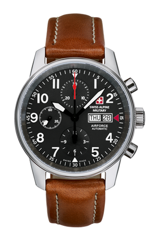 SWISS ALPINE MILITARY AIRFORCE Chronograph Automatik