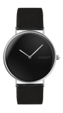 SMUKKETT Nighttimer Silver 36 mm