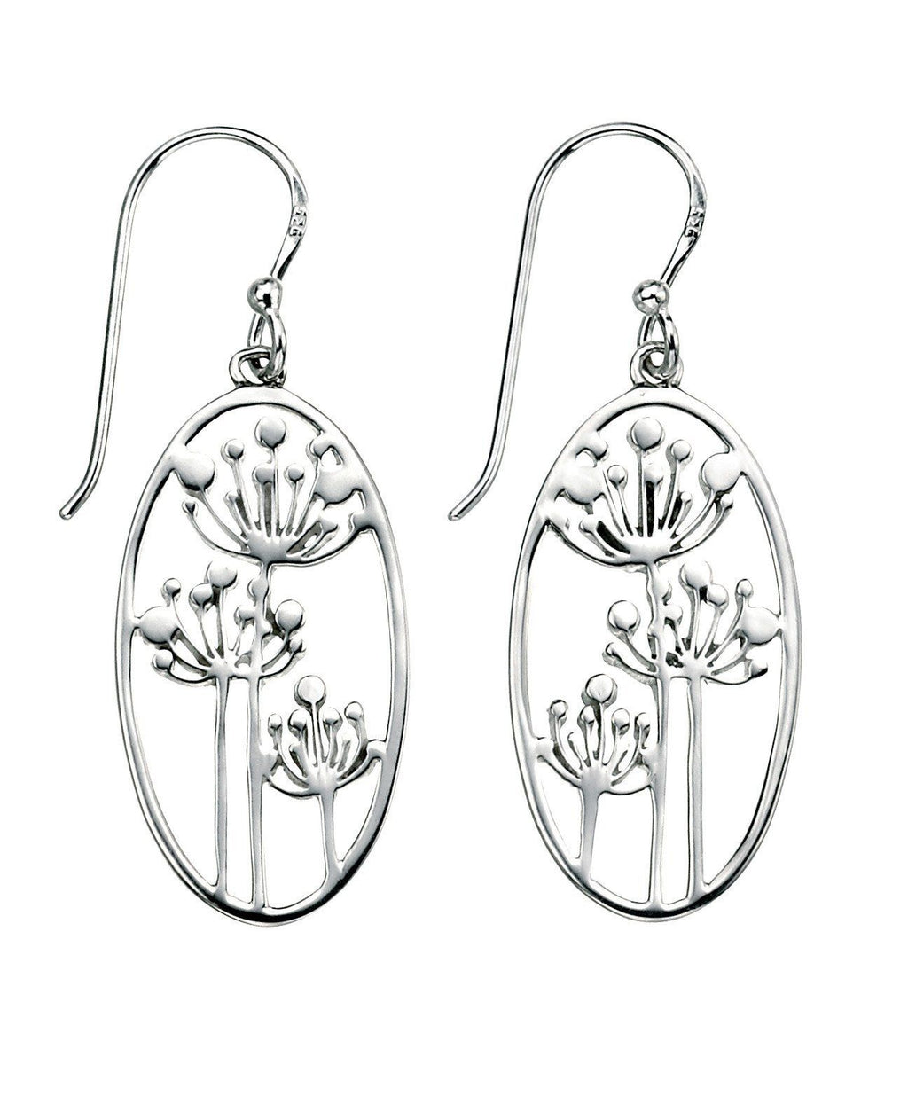 Sterling Silver Drop Earrings SV3807E - Jay's Jewellery