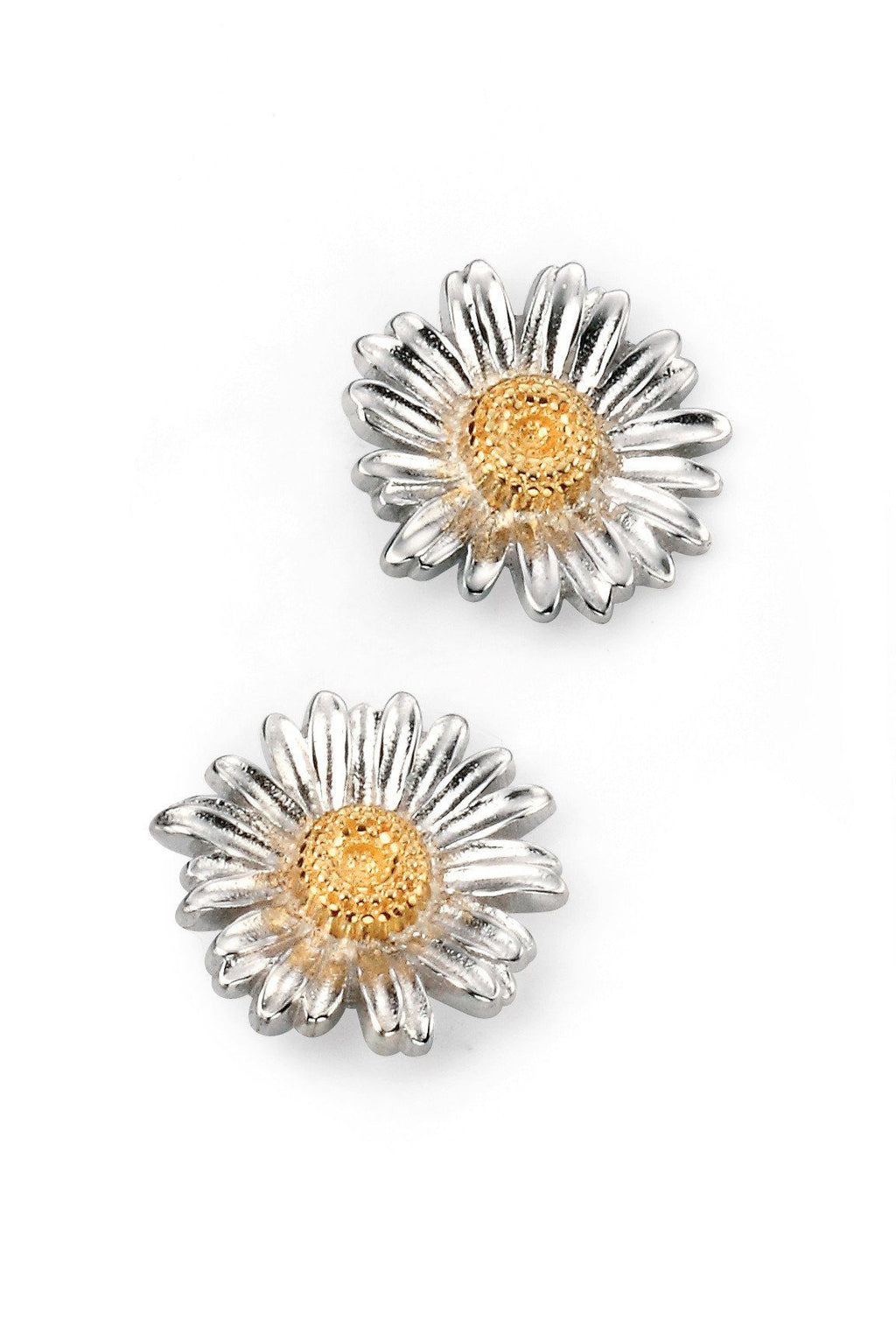 Sterling Silver Daisy Stud Earrings SV5090E - Jay's Jewellery