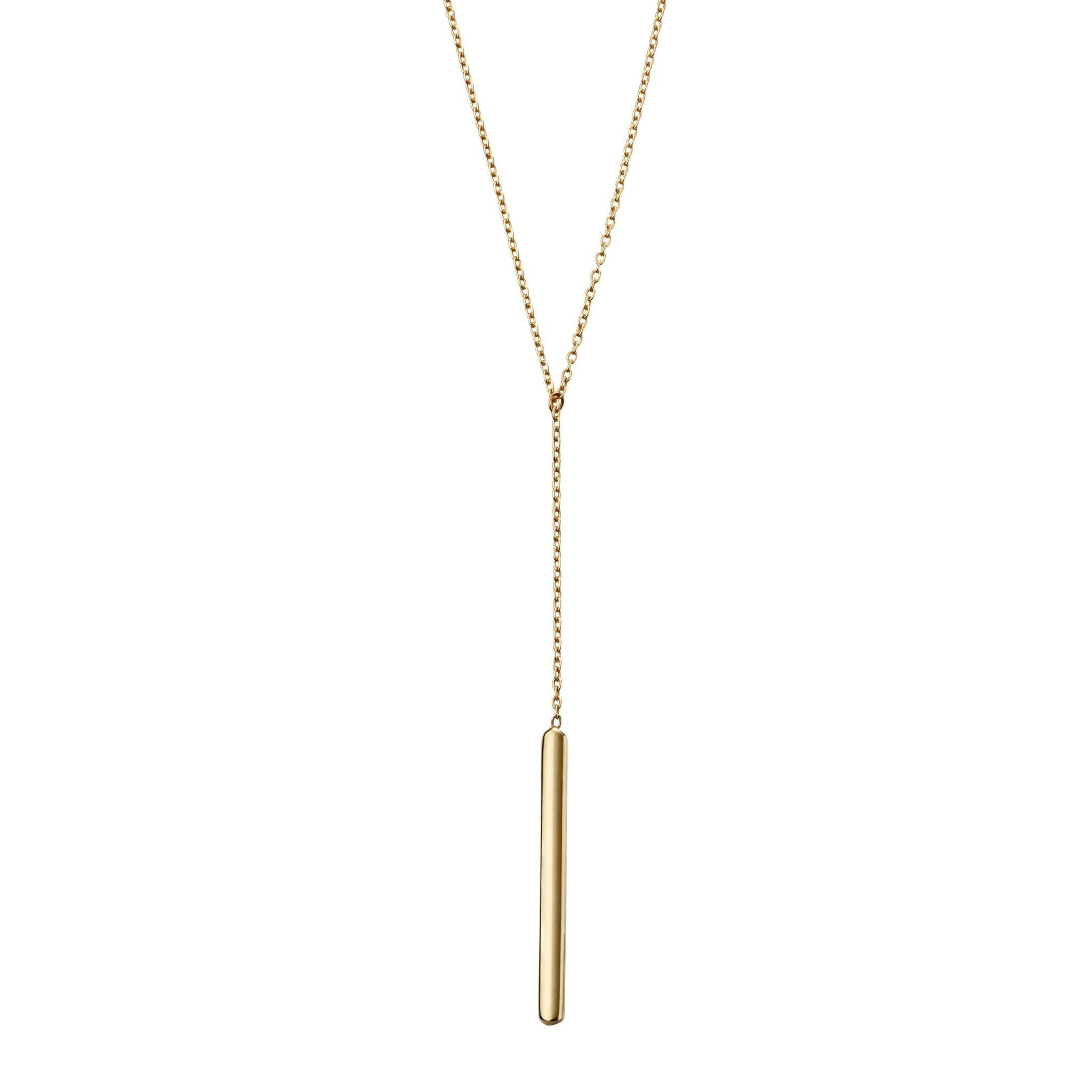 9ct Yellow Gold Drop Necklace