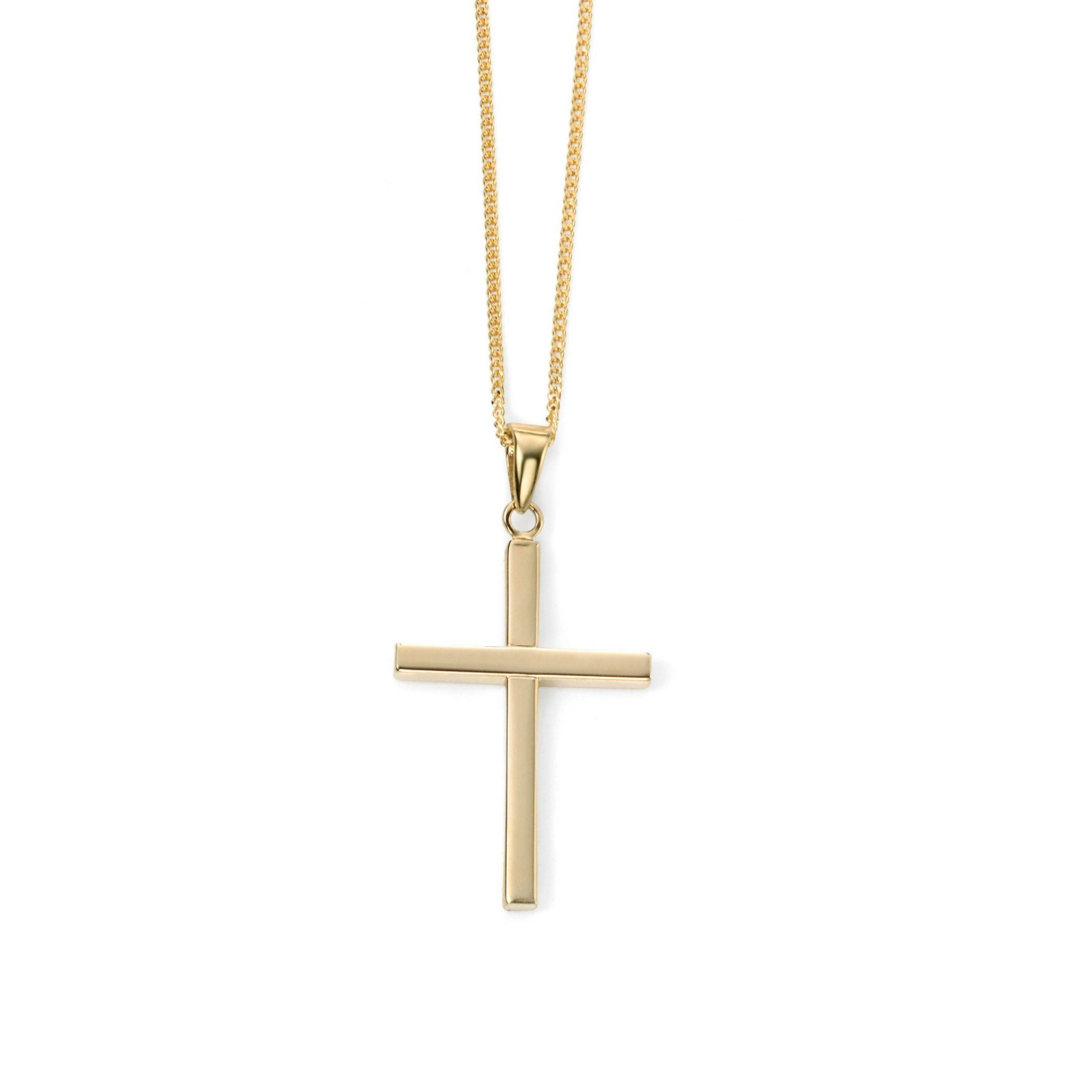 9ct Yellow Gold Cross