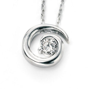 Sterling Silver & Cubic Zirconia Pendant SV3624NC - Jay's Jewellery