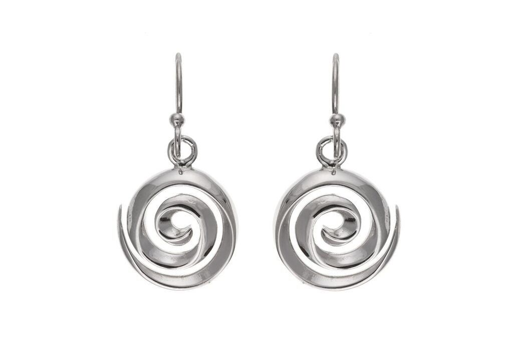 Silver Drop Earrings SV6577BP - Jay's Jewellery