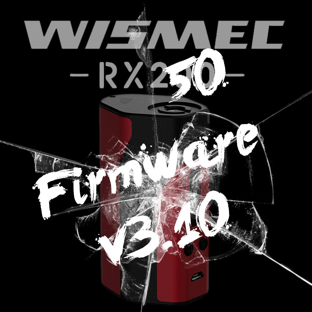 RX200 Firmware V 3.10 Now Available!