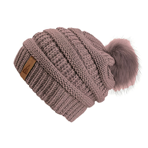 Copy of The Crew Pom Pom Hat-Rose Pink