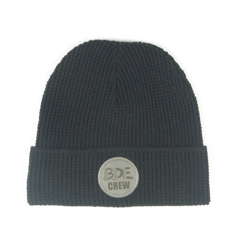 The Watch Crew Cap-Black