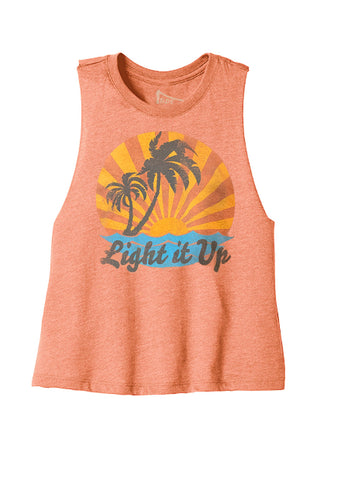 Sunrise Paradise Cropped Tank
