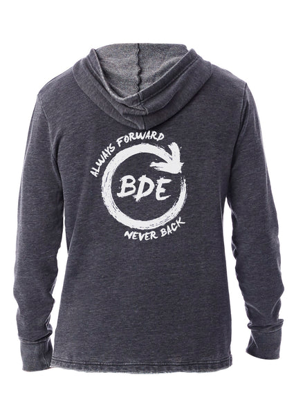 Always Forward Never Back Unisex Grey Hoodie