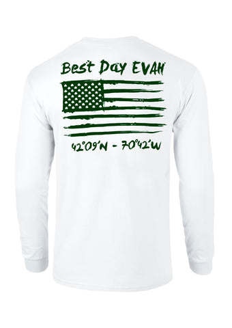 The best day evah long sleeve t