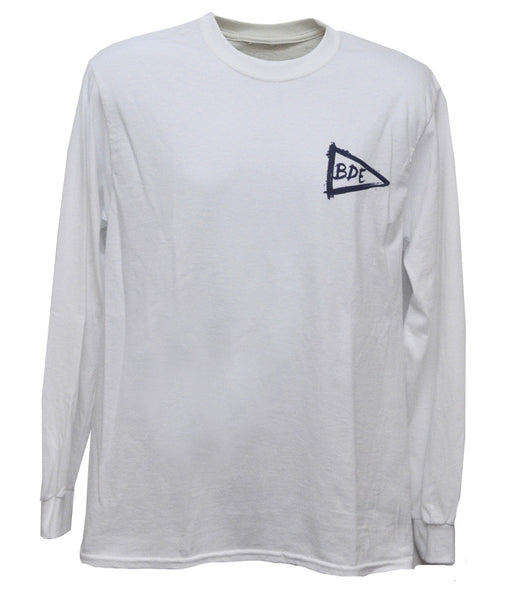 The Essential Cotton White Long T