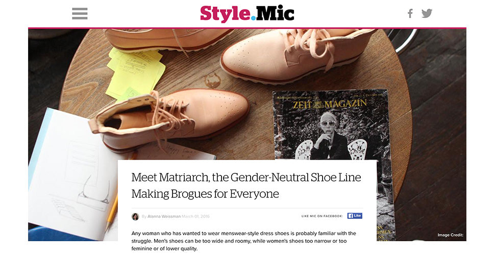 Matriarch featured on MIC.com
