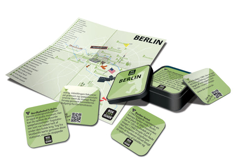 Rejseguide fra Box City Guide over Berlin