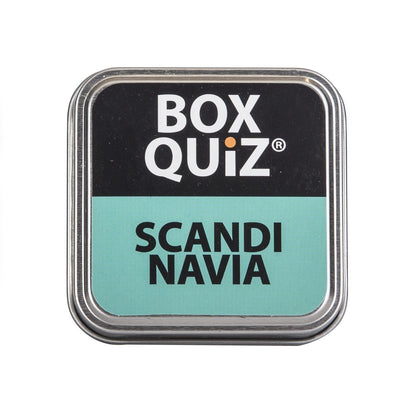 Køb Quiz game about Scandinavia in English fra BOX QUIZ hos boxquiz.dk